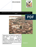 Análisis Detallados de Las Medidas de Reducción de Riesgo de Desastre