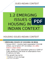 UNIT 1.2 - Housing Issues Indian Context - Copy