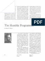 The Humble Programmer