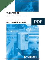Vs-G7 Instruction Manual