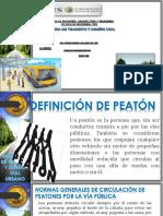 Relacion, Peaton Vehiculo Calzada
