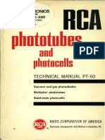 1963 PT-60 RCA Phototubes and Photocells