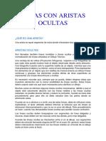 ARISTAS OCULTAS