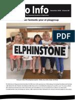 Elpho Info, vol. 80, December 2018
