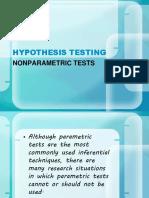 Nonparametric Test