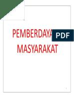 PEMBERDAYAAN MASY