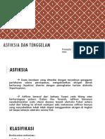 Asfiksia & Tenggelam Siska