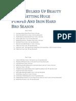 REALLY BULKED UP BEAUTY BEAST GETTING HUGE PUMPED AND IRON HARD BRO SEASON.pdf