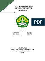 Audit Sektor Publik Bab 3