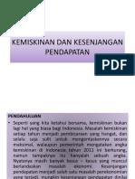 Ppt Kemiskinan & Kesenjangan Pendapatan