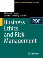 business Ethic and Risk management