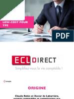 Business Model d'ECL Direct - Expert Comptable Low-Cost pour petite entreprise