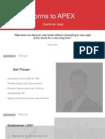 APEX Forms Sergei Martens