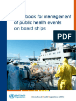 Handbook for Management of Public Health Events on Board Ships