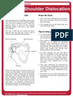 anterior shoulder dislocation