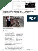El «Tzompantli», La Bestial Ofrenda Azteca a Los Dioses Que Derribaron Los Conquistadores Españoles