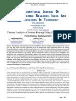 Cfd analusis of Journal Bearing