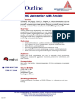 DO407 Automation With Ansible