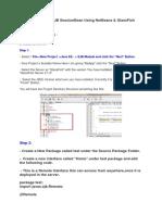 Creating a Simple EJB SessionBean Using NetBeans