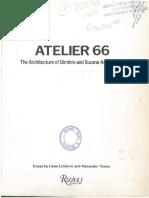 Atelier 66 - 1985 - The Architecture of Dimitris and Suzana Antonakakis