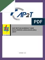 SOP.20112015.AP2T.mutasi Koreksi Tarif Data Induk Langganan