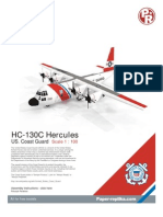 PAPERCRAFT - US Coast Guard HC-130H