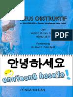Long Case-Ileus Obstruktif