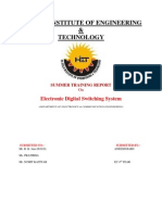 MTNL Training Report