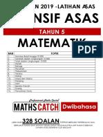[2019-] Modul Latihan Matematik (TAHUN 5) Cuti Sekolah