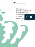 Assessment of Possible Impacts of Scrubber Water Discharge on Marine Enviroment_Danish_2012