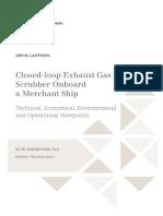 Closed-loop Exhaust GasScrubber Onboarda Merchant Ship_2016