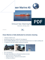 Clean Marine Presentation to Intertanko- Ma 2014