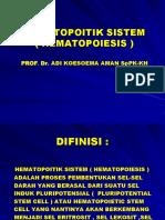 1,5. HEMATOPOITIK SISTEM Prof. AKA.ppt