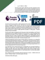 IPL Article