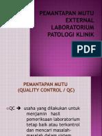Pemantapan Mutu External Laboratorium
