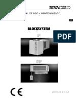 MANUAL Rivacold Blocksystem