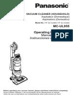 JetForce™ Transform Bagless Upright Vacuum Manual