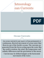 Meteorology Ocean Currents