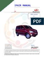 Mahindra XYLO MEagle Repair_Manual MAN 00052 Rev 1