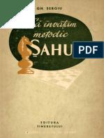 Istoria Sahului - 1955 - Ghe.Sergiu - Sa invatam metodic sahul.pdf