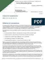 CONTROL DE CONTAMINACIÓN