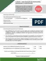 Termo de Ciencia e Ateste-professores Coordenadores e Orientadores-missao Pedagogica 2019