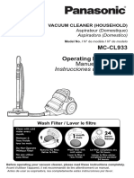 JetForce™ Bagless Canister Vacuum MC-CL933 Manual