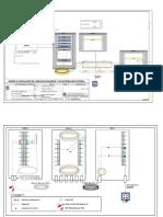 Plano, lista y etiquetas de Instalación de cableado Backbone (sena)