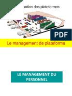 Management de Plateforme