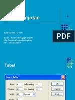 Materi 2 - HTML Lanjutan