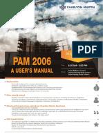 PAM 2006 - A User's Manual - 22 November 2018