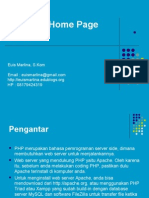 Materi 5 - PHP