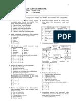 Soal Un Biologi Xii Ipa (Lat 2)