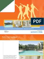 Prairie Creek Apartments for Rent Brochure Richardson Tx3738